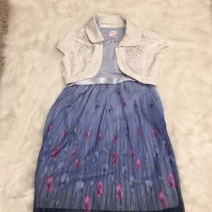 Justice Jacket with Dress! Size 8/10! 🌸🌸